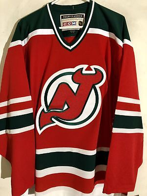 c36d98584 CCM CLASSIC NHL Jersey New Jersey Devils Team Red sz S -  49.99 ...