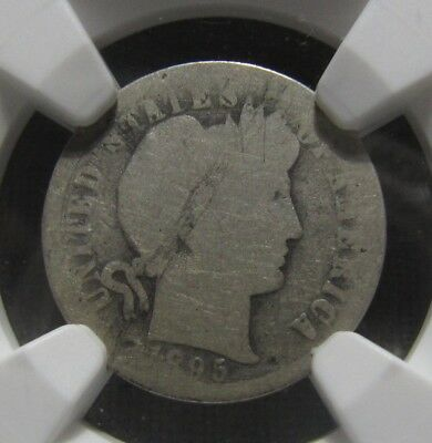 1895 O Barber Dime - NGC About Good Condition - 164SU