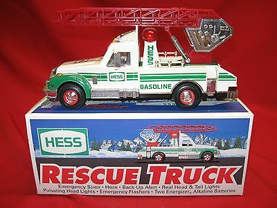 Vintage 1994 Hess Rescue Truck In Original Box