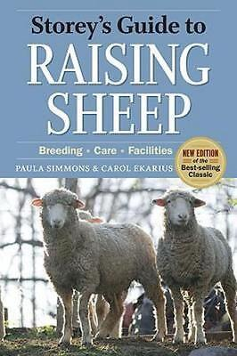 NEW Storey's Guide to Raising Sheep, 4th Edition By SIMMONS / EKARIUS Paperback