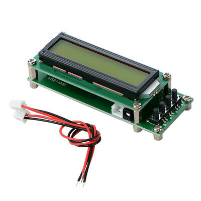 0.1~1200MHz PLJ-1601-C Frequency Counter Tester Measurement LCD For Ham Radio MI