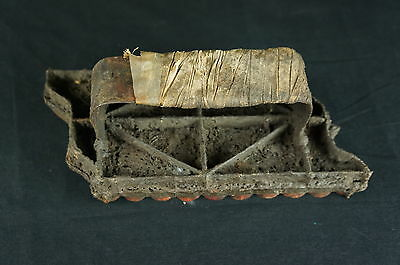 """Large unusual antique seal / stamp very detailed 9"""" [Y8-W6-A8]"""