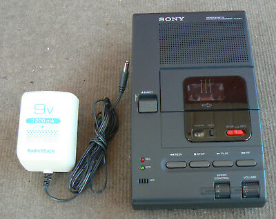 Sony M-2020 Microcassette Dictator Transcriber Recorder