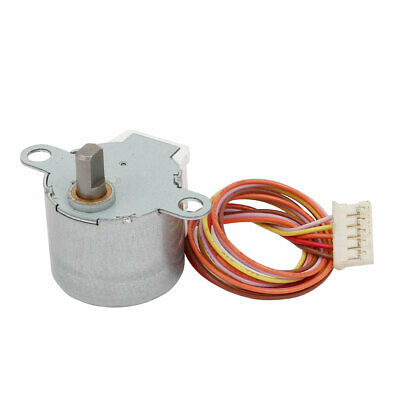 DC 12V 24RPM 50Hz 5 Terminals Connector Microwave Oven Synchronous Motor