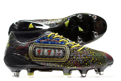 adidas Mens adizero Malice 7s Soft Ground Rugby Boots Sports Shoes Stud Training