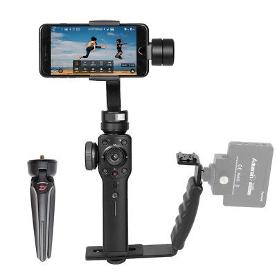 Zhiyun Smooth 4 Handheld 3-Axis Smartphone Gimbal Stabilizer Phonego Mode New