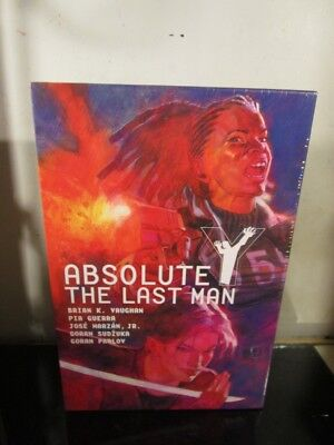 Absolute Y: The Last Man Vol. 2 by Brian K. Vaughan Hardcover HC SEALED~