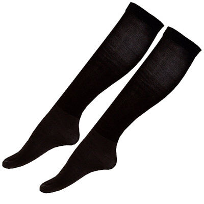One Size Back On Track Infused Soft Woven Breathable Bella Socks Black