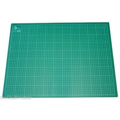 Toolzone A2 Cutting Mat Printed Grid Lines Non Slip Knife Board Crafts Models -