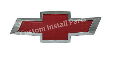 Front Grille Red Bowtie Emblem Replaces 22761889 Fits 2010-2015 Chevy Camaro ZL1