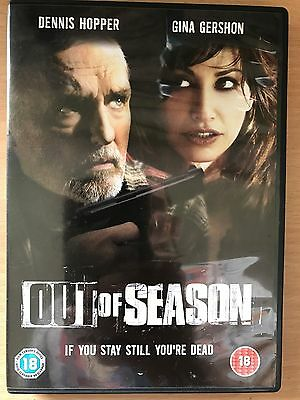 Dennis Hopper Gina Gershon Out de Saison ~2004 Crime Thriller GB au Détail DVD