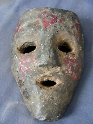 19th Century Middle Hills Nepal Shaman Mask with Provenance