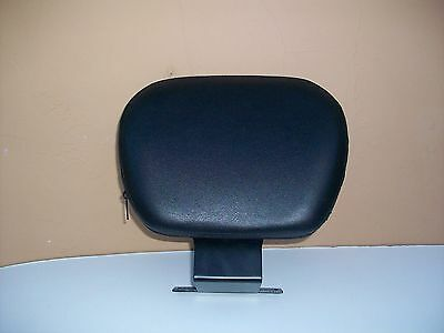 """NEW"" Driver Backrest for SUZUKI Boulevard C50 C90  w/ Black Pad"