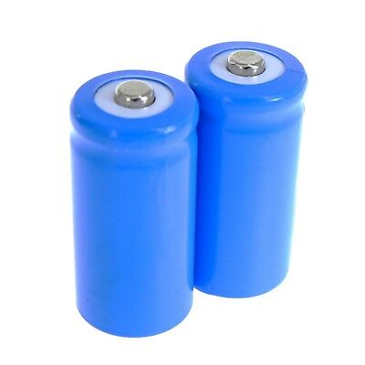 3.2V LiFePO4 Lithium (CR2/15270/17335/CR123A) Rechargeable Battery cell pack