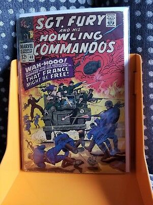 SGT. FURY AND HIS HOWLING COMMANDOS, Vol.1, #40 (MARVEL)
