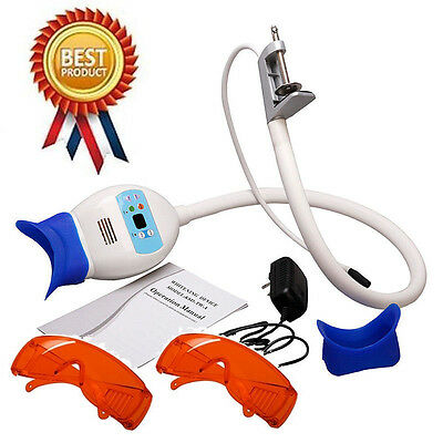 Coiled pipe style dental teeth whitening lamp Bleaching Accelerator +Goggle BGP