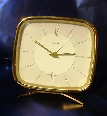 MAUTHE orologio sveglia Made in Germany anni '50 Vintage originale
