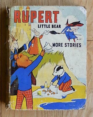 Rupert Little Bear More Stories 1939 First Edition