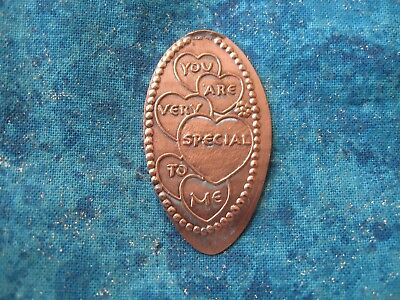 YOU ARE VERY SPECIAL TO ME Elongated Penny Pressed Smashed 23