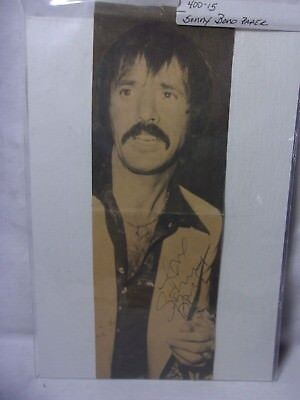 Sonny Bono Autograph in Pen on Paper Clipping  T*