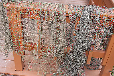 (1) Seafood Restaurant Decor, Fishing Net Decoration, 2 lbs / 2-4 pieces, Net-1