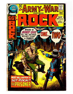 OUR ARMY AT WAR #245 in NEAR MINT- grade 1972 DC WAR comic with  SGT ROCK
