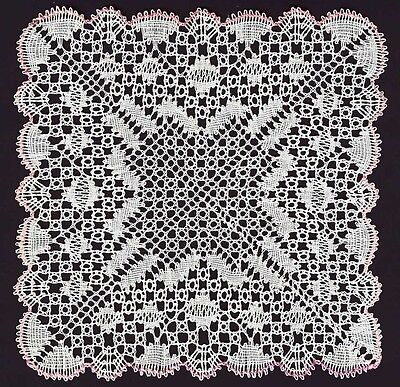 Rose Garden  Torchon Bobbin Lace Pattern Lacemaking *PATTERN ONLY*