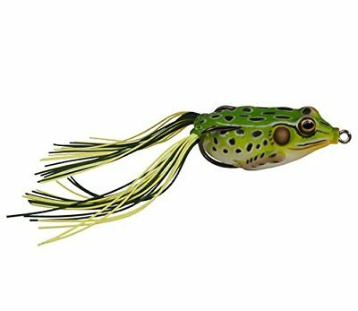 "NEW Koppers Hollow Body Frog Floating 1-7//8/"" Bright Green FGH45T513"