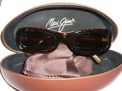 Maui Jim MJ 190-10 Womens Sunglasses Excellent Condition Polarized Made in Italy
