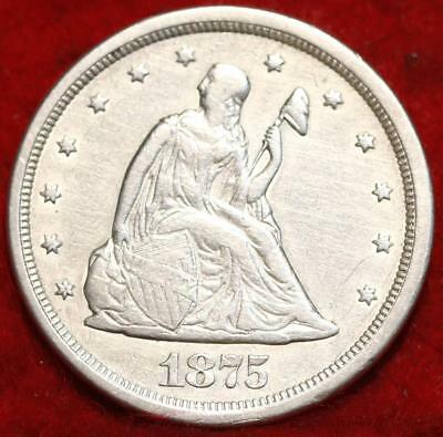 1875-S US 20 Cents Silver Coin