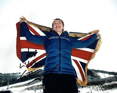 Elizabeth Lizzy YARNOLD Autograph Signed 10x8 Photo 2 AFTAL COA 2018 Gold Winner
