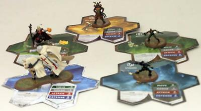 WOTC HeroScape Lo Wave #8 - Defenders of Kinsland - Heroes of the Molten Se NM