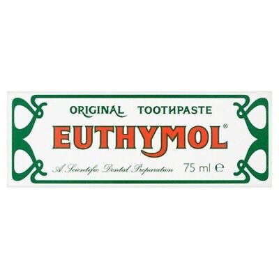 Euthymol Original Toothpaste Tube, 75ml