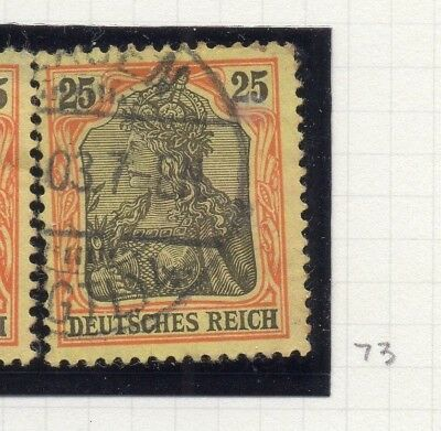 Germany 1902 Early Issue Fine Used 25pf. 236377