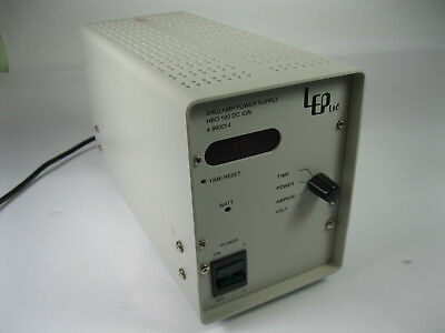 Lep Arclamp Power Supply Hbo 100 Dc Ign 990014
