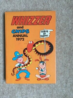 Whizzer And Chips Annual 1972