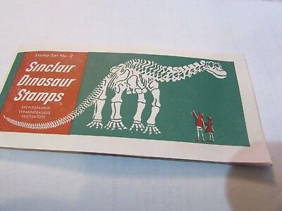 SINCLAIR Gasoline DINOSAUR Stamps Set # 2 Promotional advertising