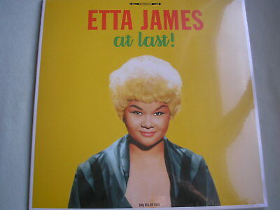 ETTA JAMES At Last! UK LP 2016 new mint sealed 180g yellow vinyl