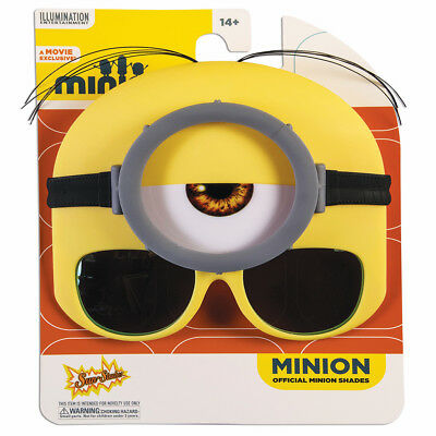 Despicable Eyewear Stuart The Minion Sun Staches - Ages 8 and up  fnt