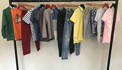 NEXT Boys Clothes Bundle Jeans Polo Shirts Tank Top Shorts Hoody TShirts Age 5-6