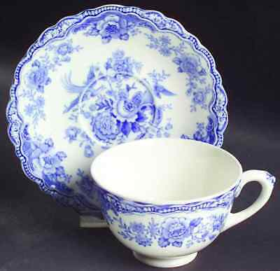 Crown Ducal BRISTOL BLUE Cup & Saucer 6795665