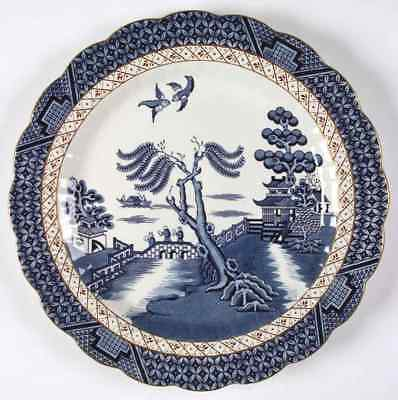 "Booths REAL OLD WILLOW BLUE 11 7/8"" Chop Plate (Round Platter) 4097109"