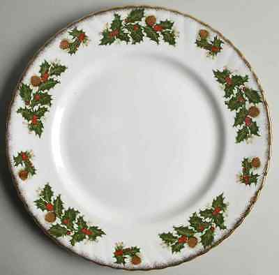 Rosina Queens YULETIDE (SCALLOPED) Dinner Plate 5450844