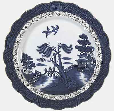 Booths REAL OLD WILLOW BLUE Dinner Plate S6309990G2