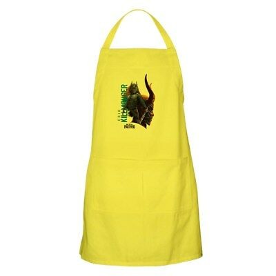 CafePress Black Panther Killmonger Full Length Cooking Apron (259188197)