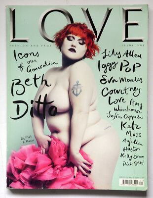 LOVE magazine 1 First issue Spring Summer 2009 Beth Ditto
