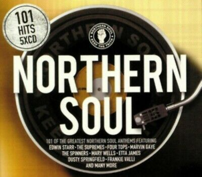Various Artists - 101 Northern Soul NEW 5xCD