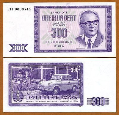 East Germany DDR, 300 mark, 2016 Private Issue / Essay, UNC > Erich Honeker