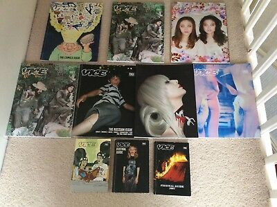 VICE STYLE MAGAZINE LOT OF SEVEN ISSUES 2006-12  vgc