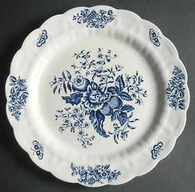 Booths PEONY BLUE Chop Plate (Round Platter) 4188680